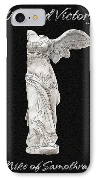 Winged Victory - Nike Of Samothrace Phone Case by Jerrett Dornbusch