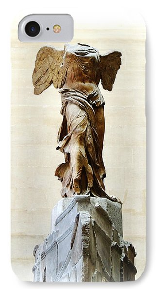 Winged Victory Of Samothrace Phone Case by Conor O'Brien