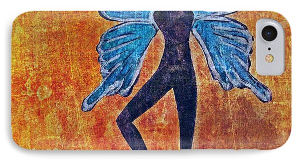 IPhone Case featuring the digital art Wings 16 by Maria Huntley