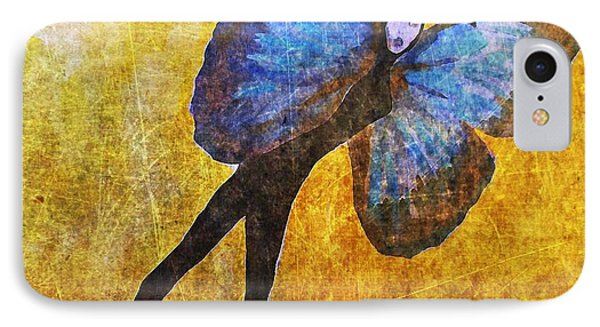 IPhone Case featuring the digital art Wings 5  by Maria Huntley