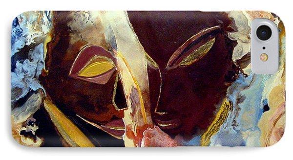 Wings And Waterfalls IPhone Case by Carolyn Goodridge