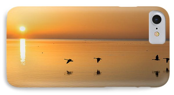IPhone Case featuring the photograph Wings At Sunrise by Georgia Mizuleva