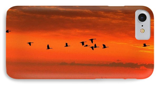 Wings On High IPhone Case by Larry Trupp