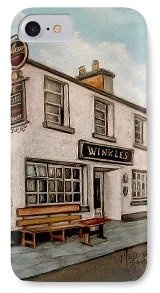 Winkles Pub Kinvera Ireland IPhone Case by Melinda Saminski