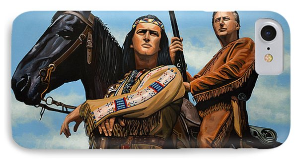 Winnetou And Old Shatterhand IPhone Case