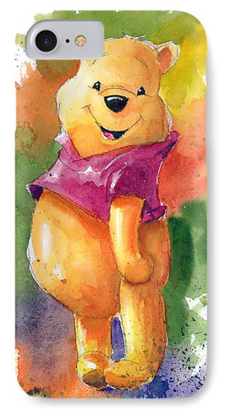The iPhone 7 Case - Winnie The Pooh by Andrew Fling