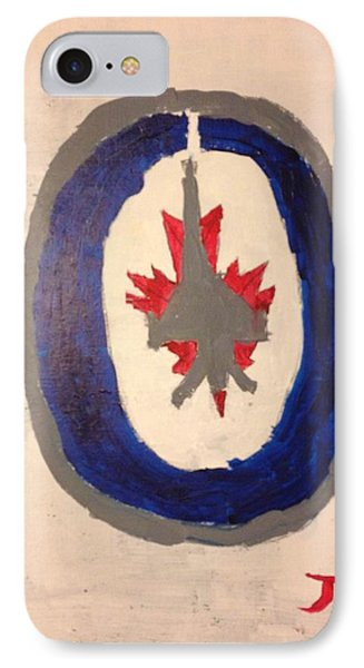 Winnipeg Jets Logo IPhone Case by Jimmy Kilgus