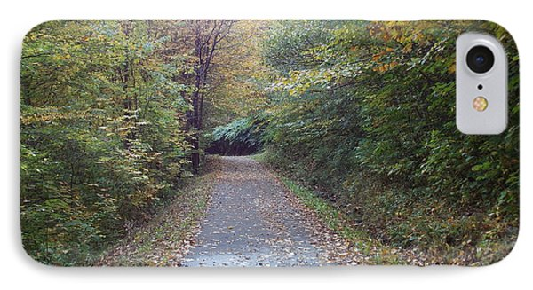Winnipesaukee Trail IPhone Case by Catherine Gagne
