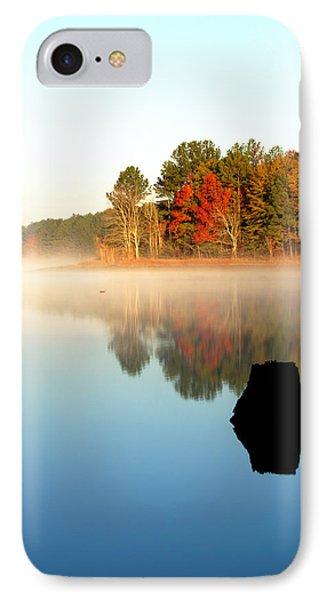 Winnsboro Reservoir-1 IPhone Case by Charles Hite