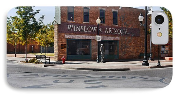 Winslow Arizona - Such A Fine Sight To See Phone Case by Christine Till