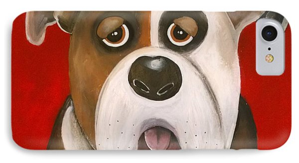 Winston The Dog IPhone Case