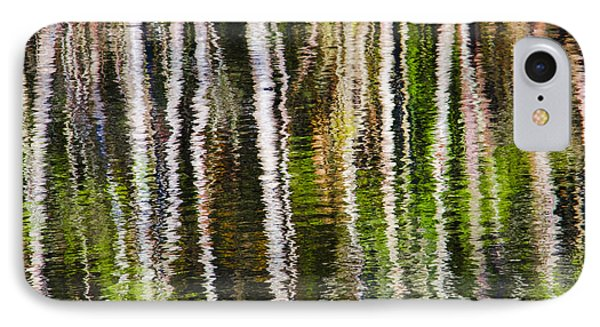 Winter Abstract Phone Case by Carolyn Marshall