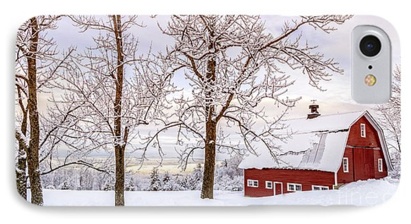 Winter Arrives IPhone Case by Edward Fielding
