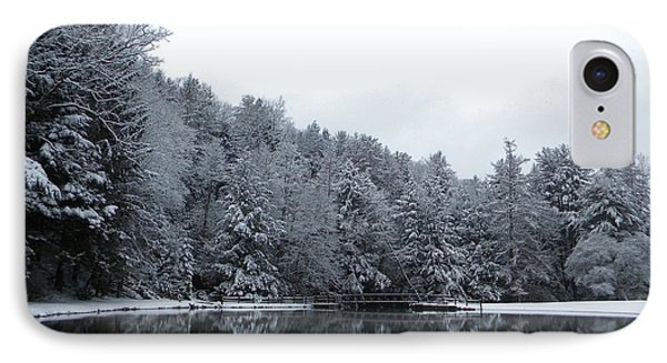 Winter At Clear Creek Phone Case by Anthony Thomas