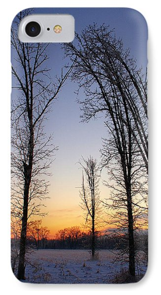 Winter At Dusk IPhone Case