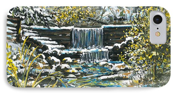Winter At Iargo Springs Phone Case by Robin  Pelton