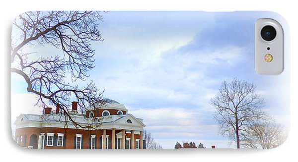 Winter At Monticello IPhone Case
