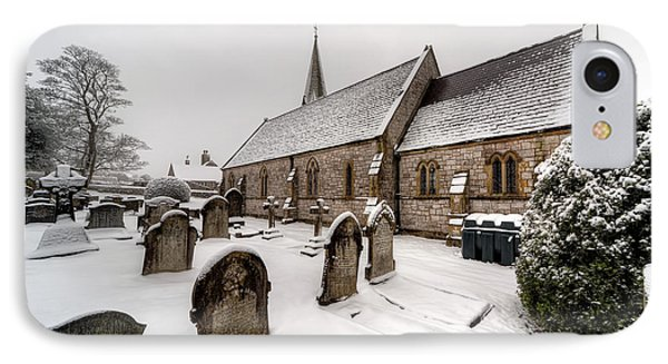 Winter At St Paul Phone Case by Adrian Evans
