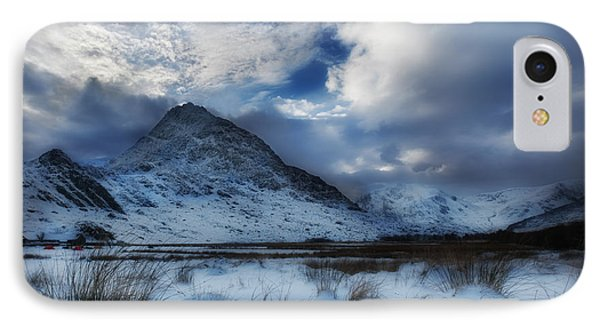 Winter At Tryfan IPhone Case by Beverly Cash