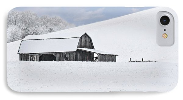 Winter Barn Phone Case by Benanne Stiens
