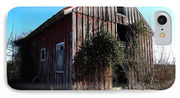 Winter Barn Phone Case by Richard Reeve