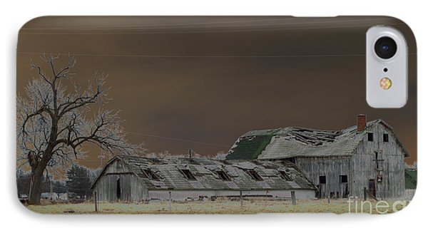 Winter Barns Phone Case by Alys Caviness-Gober
