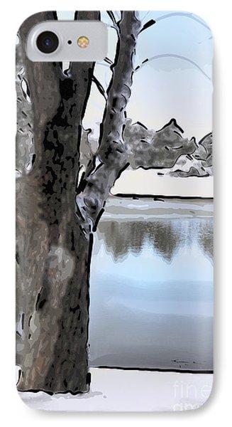 Winter Beauty IPhone Case by Betty LaRue