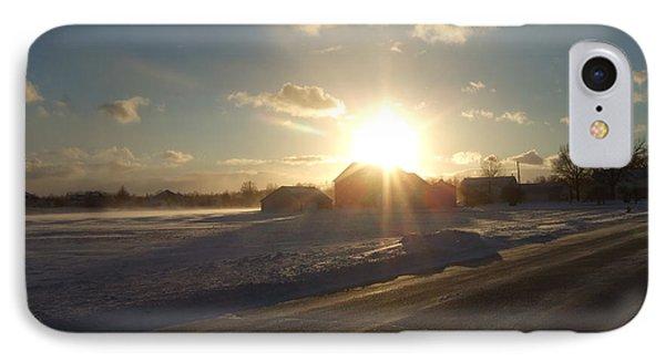 Winter Beauty  IPhone Case by Deborah DeLaBarre