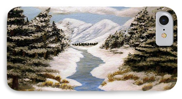 Winter Bliss IPhone Case by Sheri Keith