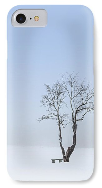 Winter Blues IPhone Case by Bill Wakeley
