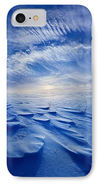 Winter Born IPhone Case by Phil Koch
