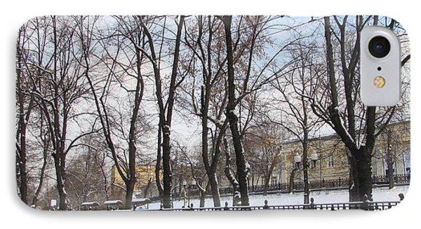 Winter Boulevard IPhone 7 Case by Anna Yurasovsky
