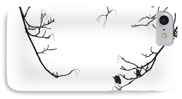 Winter Branch Abstract IPhone Case