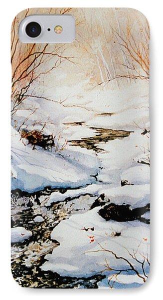 Winter Break Phone Case by Hanne Lore Koehler