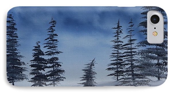 IPhone Case featuring the painting Winter Chill by Jennifer Muller