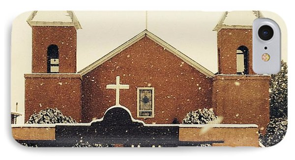 Winter Church IPhone Case