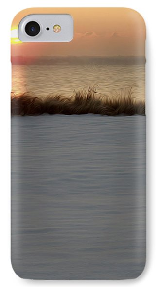 IPhone Case featuring the digital art Winter Coast by Kelvin Booker