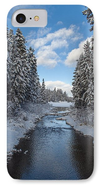 Winter Creek IPhone Case by Fran Riley