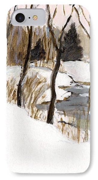 Winter Creek IPhone Case by J Reifsnyder
