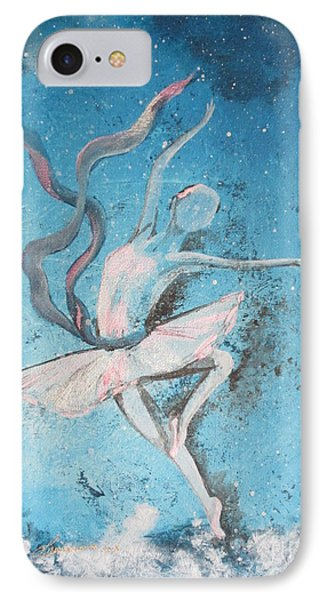 Winter Dancer1 IPhone Case