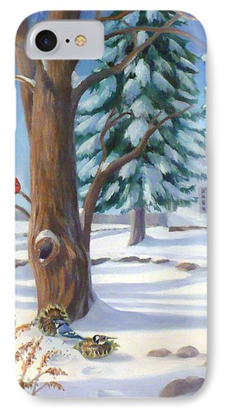 Winter Day IPhone Case by Janet  Zeh