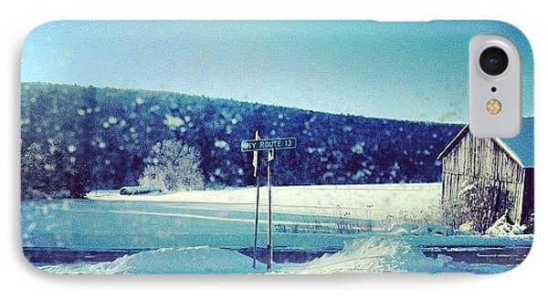 Winter Days IPhone Case by Mike Maher