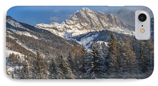 Winter Dolomites IPhone Case by Martin Capek