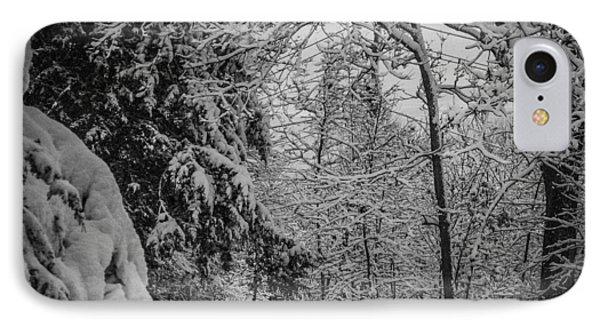 Winter Drive IPhone Case by Joe Scott