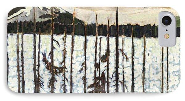 Winter Dusk IPhone Case by David Dossett