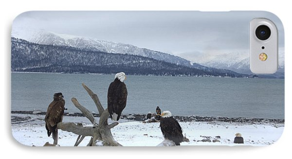 Winter Eagles IPhone Case