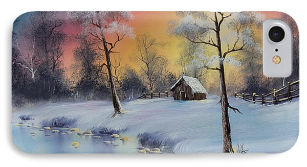Winter's Grace IPhone Case by C Steele