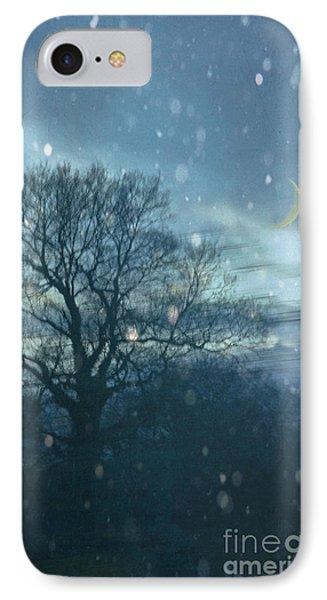 Winter Evening Phone Case by Jan Bickerton