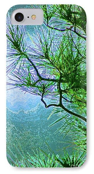 Winter Evergreen  IPhone Case by First Star Art