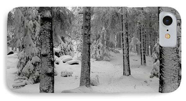 Winter Fairy Tale Forest Phone Case by Andreas Levi
